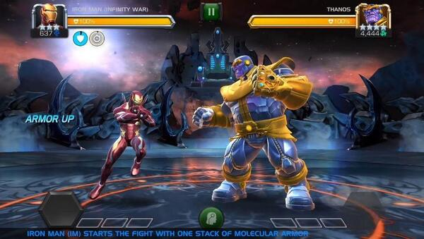 MARVEL Contest of Champions Screen