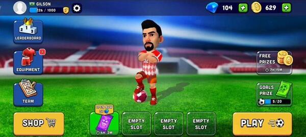 Mini Football Menu