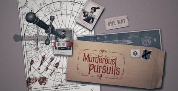 Murderous Pursuits Logo