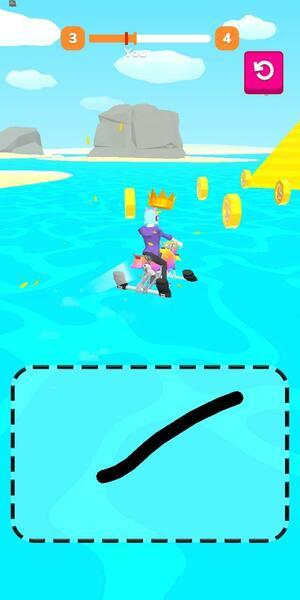 Scribble Rider Screen 2
