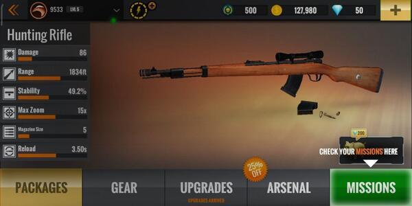 Sniper 3D Riffle