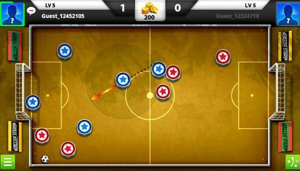 Soccer Stars Screen 1