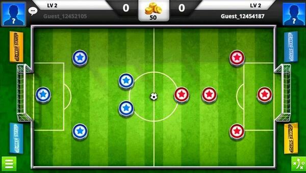Soccer Stars Screen 2