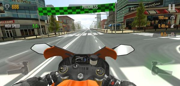 Traffic Rider Moto