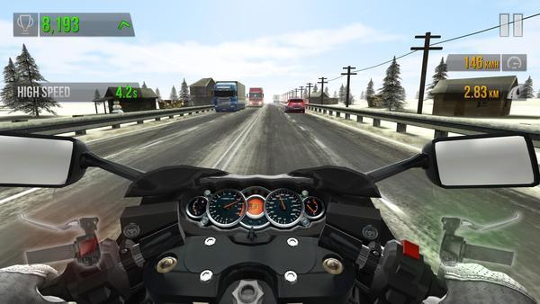 Traffic Rider Screen