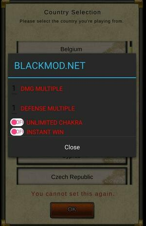 Ultimate Ninja Blazing Mod