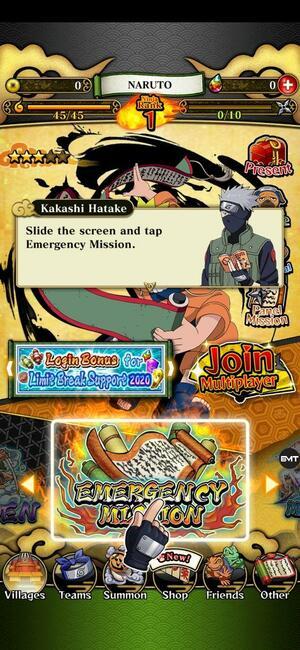 Ultimate Ninja Blazing Screen 1