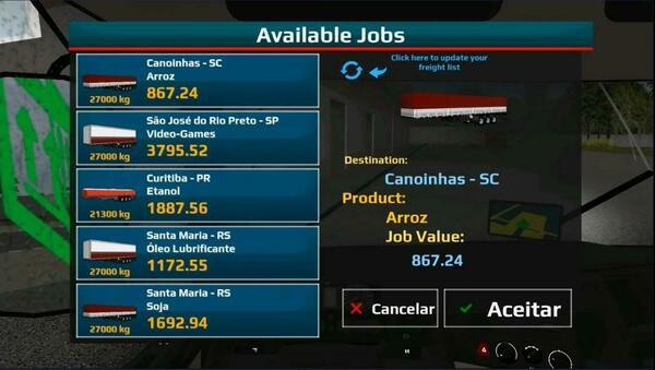 World Truck Driving Simulator Mod Jobs