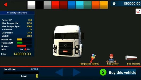 World Truck Driving Simulator Shop