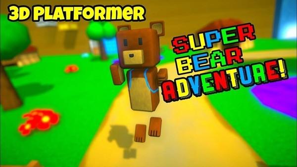3D Platformer] Super Bear Adventure Logo