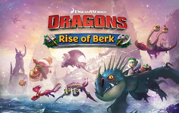 Dragons Rise of Berk Logo
