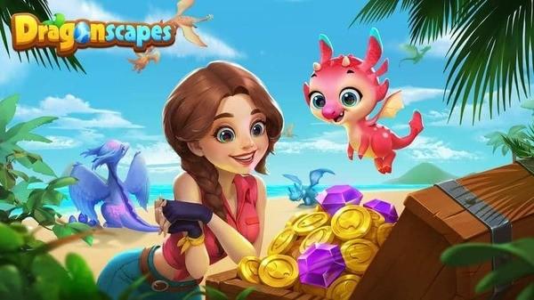 Dragonscapes Adventure Logo