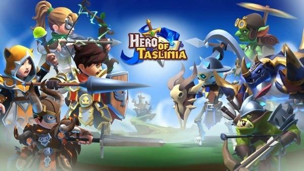 Hero of Taslinia Logo