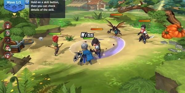 Hero of Taslinia Screenshot 2