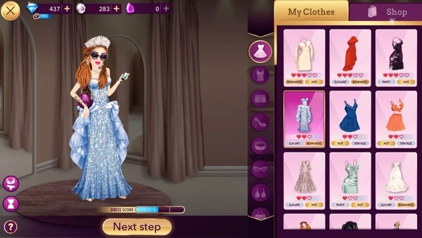 Hollywood Story Fashion Star Screenshot 2