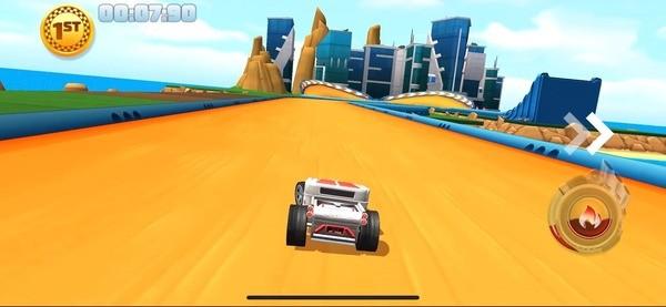 Hot Wheels Unlimited Screen 1