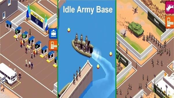 Idle Army Base Logo