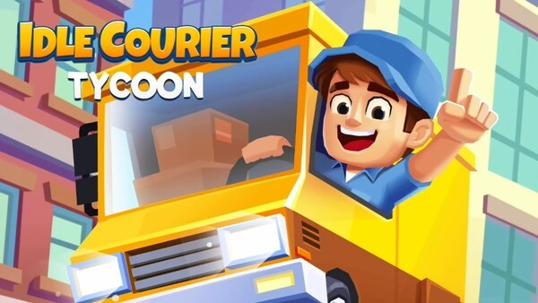 Idle Courier Tycoon Logo