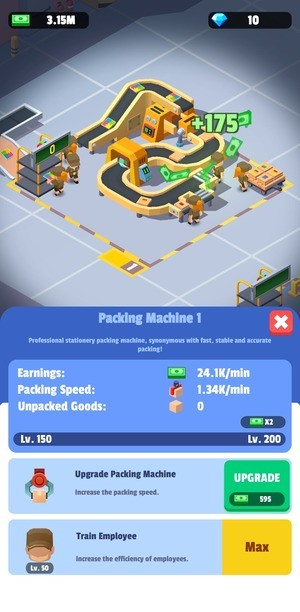 Idle Courier Tycoon Screenshot 1
