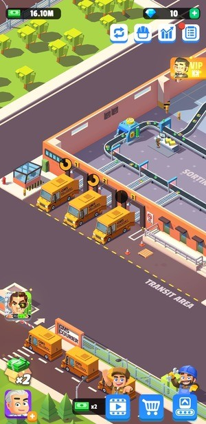 Idle Courier Tycoon Screenshot 3