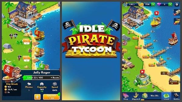 Idle Pirate Tycoon Logo