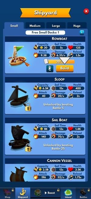 Idle Pirate Tycoon Screenshot 2