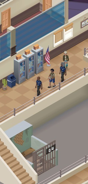 Idle Police Tycoon Screenshot 1