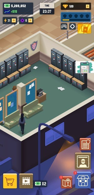 Idle Police Tycoon Screenshot 2