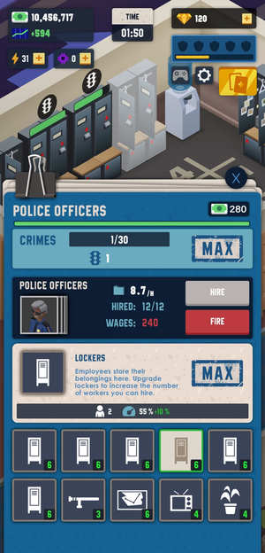 Idle Police Tycoon Screenshot 3