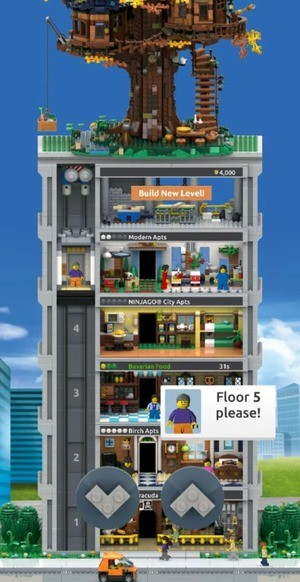 Lego Tower Screenshot 3