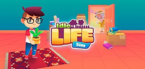 Life is a Game - Idle Game Logo