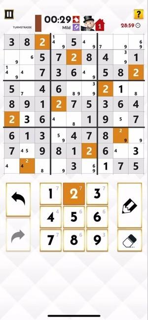 Monopoly Sudoku Screenshot 1