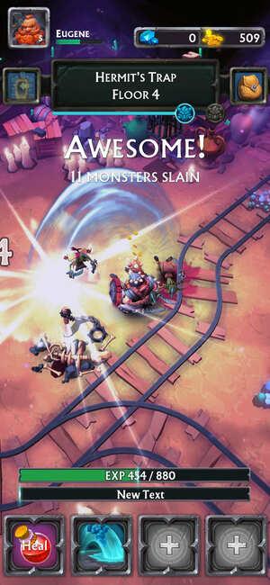 Never Ending Dungeon Screenshot 1