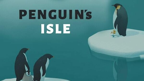 Penguin Isle Logo