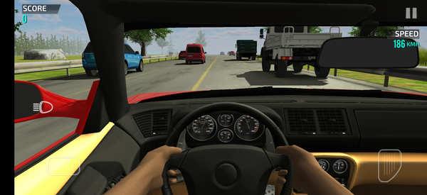 Racing in Car 2 Screenshot 1