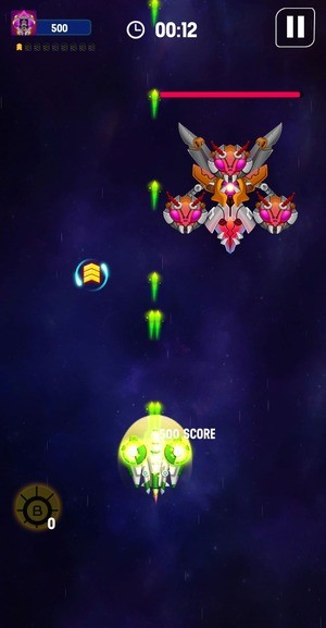Space Shooter Galaxy Attack Screen 2