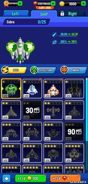 Space Shooter Galaxy Attack Screen 3