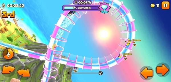 Uphill Rush Water Park Racing Screenshot 4