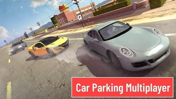 Car Parking Multiplayer Logo