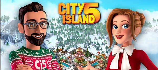 City Island 5 Logo