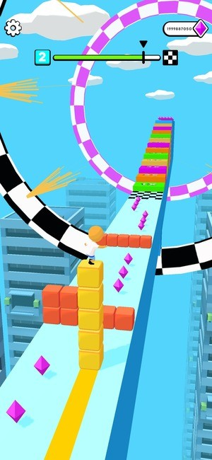 Cube Surfer Screenshot 2