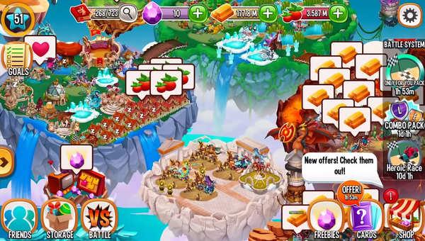 Dragon City Screenshot 4