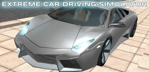 Extreme Car Driving Simulator Logo