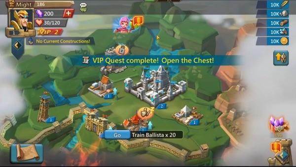 Lords Mobile Kingdom Wars Screenshot 1