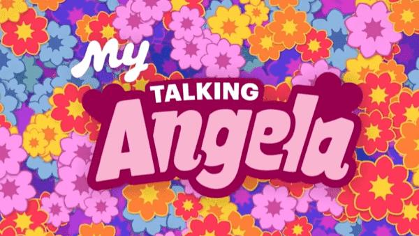 My Talking Angela Logo