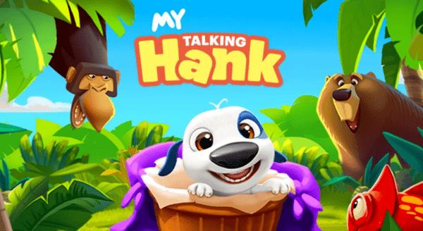My Talking Hank Logo