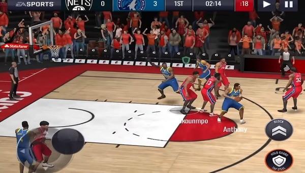 NBA Live Mobile Screenshot 2
