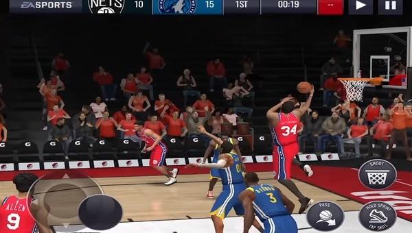 NBA Live Mobile Screenshot 3