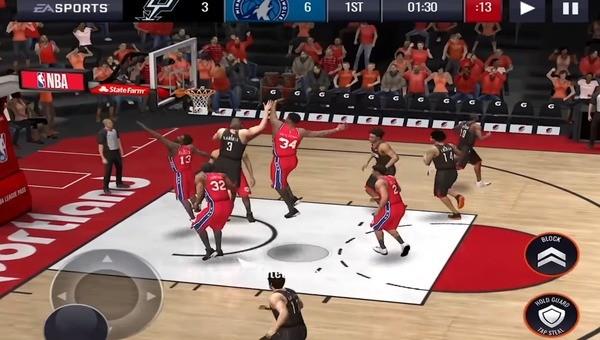 NBA Live Mobile Screenshot 4