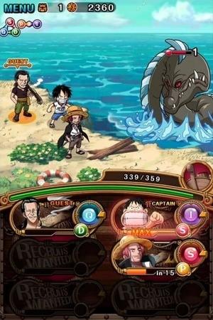 One Piece Treasure Cruise Screenshot 2